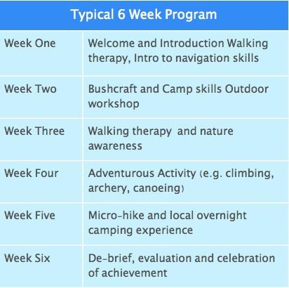 Example 6 Week Footprints Program