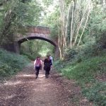 Young People from Sprowston Youth Engagement Project walked 26 miles on the Marriott's Way