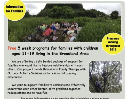 Broadland YAB Family Relationship Project 2015