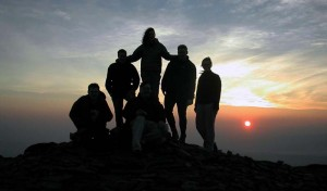 pen y fan sunset