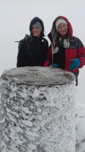 Snowy Snowdon Summit