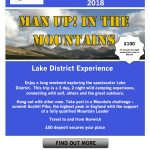 man up in the mountains august 2018